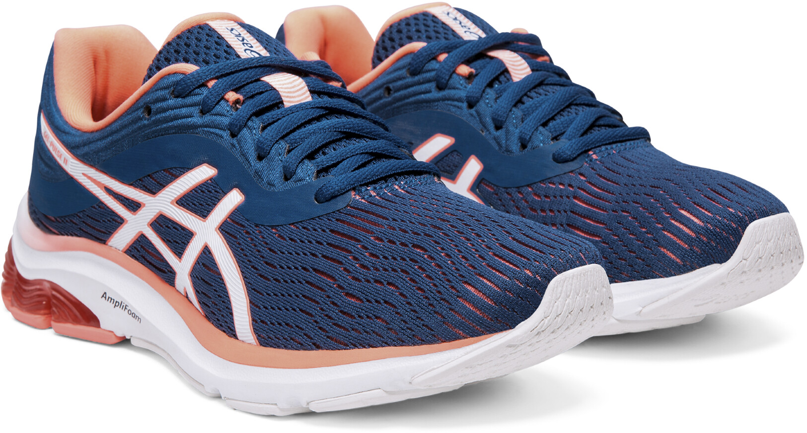 ac744ca492 asics Gel-Pulse 11 Shoes Women mako blue/sun coral